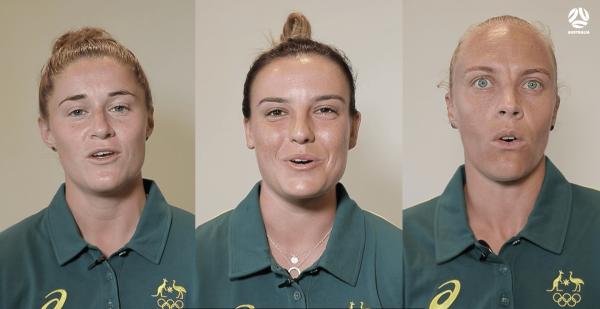 Matildas Tokyo 2020 Australian Olympians' Oath