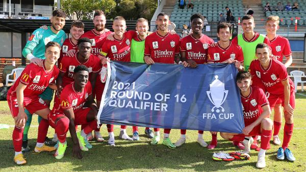 Adelaide United kick off FFA Cup defence with extra-time win