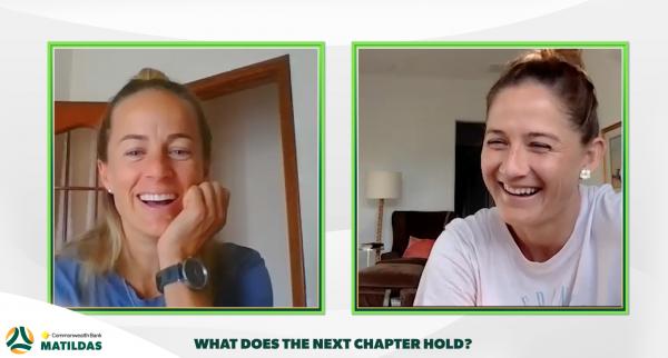 Aivi Luik and Laura Brock retirement interview