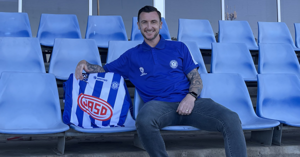 Sydney Olympic sign Roy O'Donovan for the FFA Cup