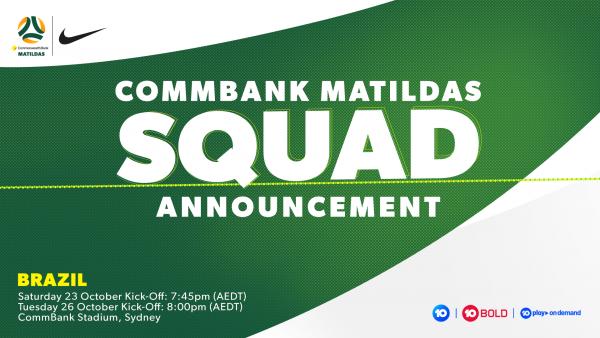 October Squad Announcement