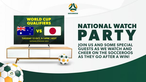 Socceroos v Japan Watch Party