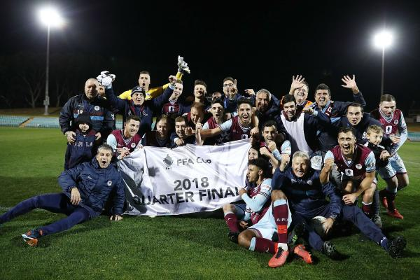 Dates, times and venues announced for FFA Cup Quarter Finals