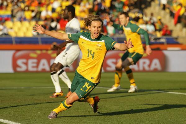 Brett Holman 2010 World Cup