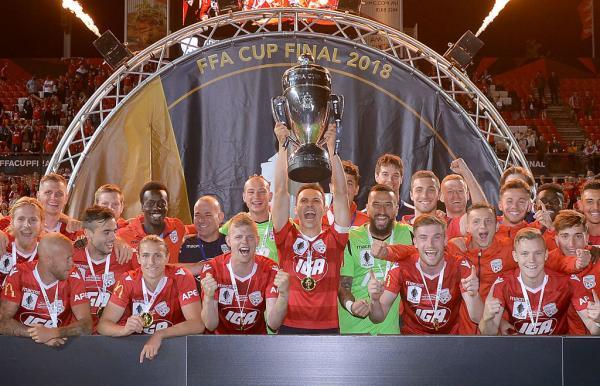 Adelaide United FFA Cup winners 2018