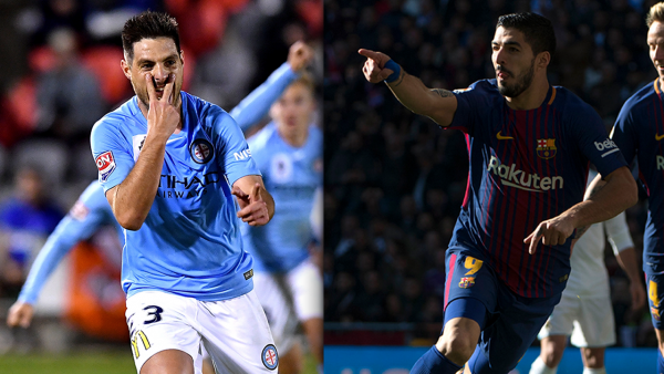 Bruno Fornaroli and Luis Suarez