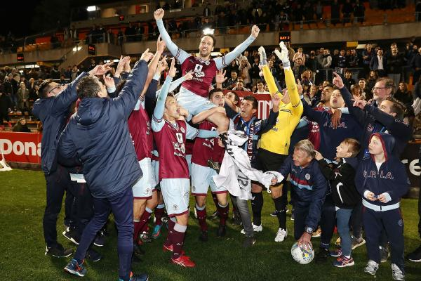 Tigers stalwart Parisi hails FFA Cup heroes after stunning Victory