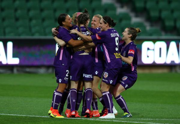 Caitlin Doeglas scored the Westfield W-League's second fastest ever goal for Perth Glory