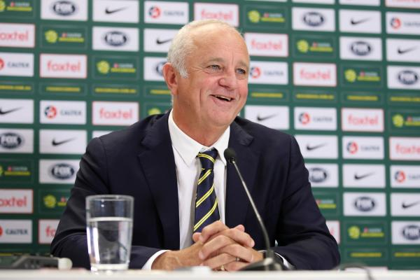 New Caltex Socceroos Head Coach Graham Arnold gives his first press conference