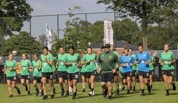 Matildas train in the Netherlands