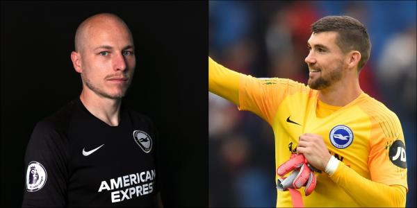 Aaron Mooy and Mathew Ryan have joined forces at Brighton and Hove Albion