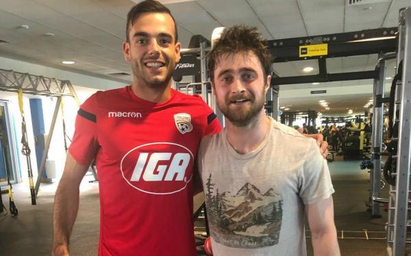 Nikola Mileusnic and Daniel Radcliffe