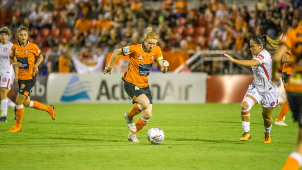 Brisbane Roar's Westfield W-League 2019/20 Season Draw