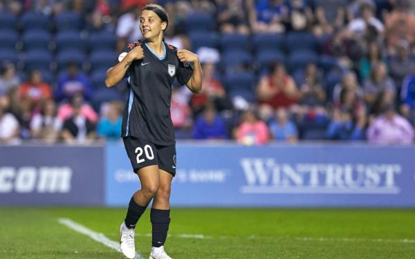 Sam Kerr, Chicago Red Star, image courtesy of chicagoredstars.com