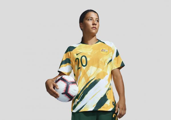 Sam Kerr in Nike World Cup 2019 kit