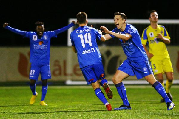 Newcastle hand FFA Cup 2018 heroes a Hyundai A-League shot