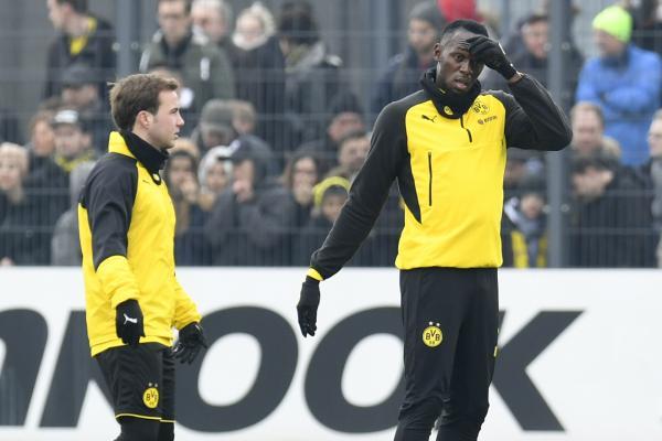Mario Gotze; Usain Bolt