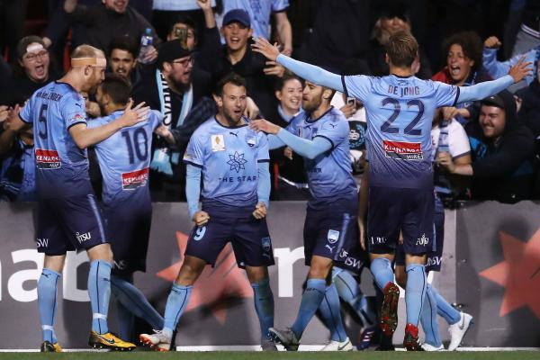 After Siem de Jong scored Sydney's second, Le Fondre iced the result with a late penalty.