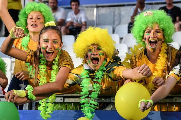 Matildas fans
