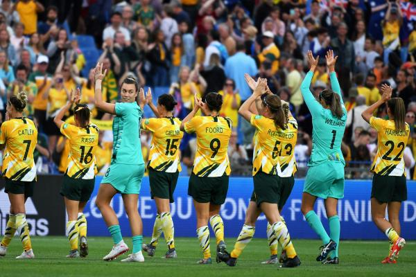 The Matildas thank the fans for their incredible support
