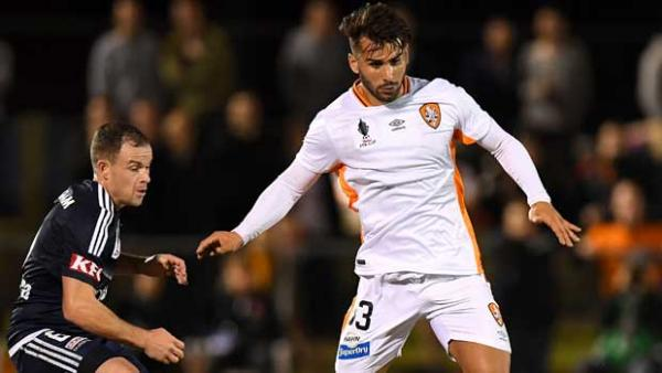 Peter Skapetis scored a stunner for Brisbane Roar in the Westfield FFA Cup against Melbourne Victory.