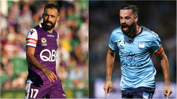 Diego Castro; Alex Brosque