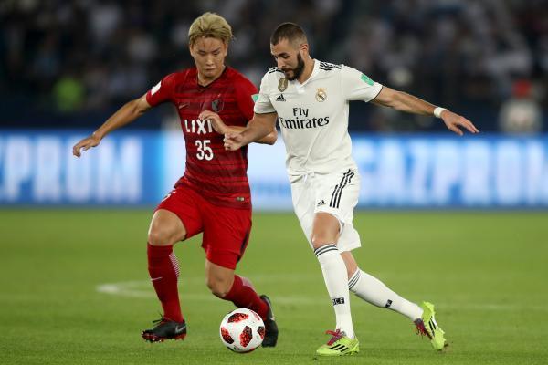 Kashima v Real Madrid