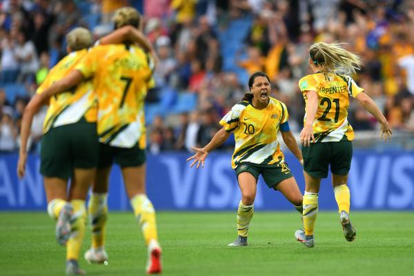 That's what it means to skipper Sam Kerr