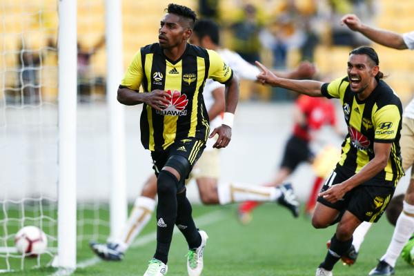 Roy Krishna's goal against Newcastle Jets takes him equal first on Phoenix's all-time scoring charts.