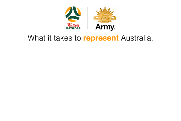 Westfield Matildas join forces with Defence Force Recruiting