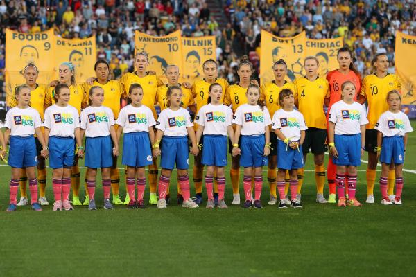 Matildas starting XI