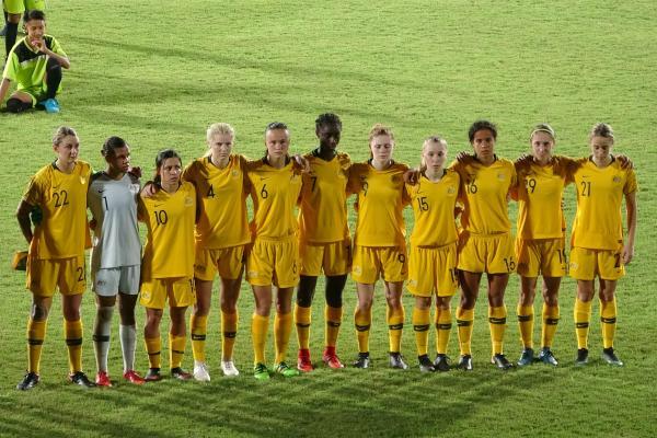 Young Matildas starting XI v Thailand