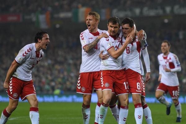 Denmark celebrate