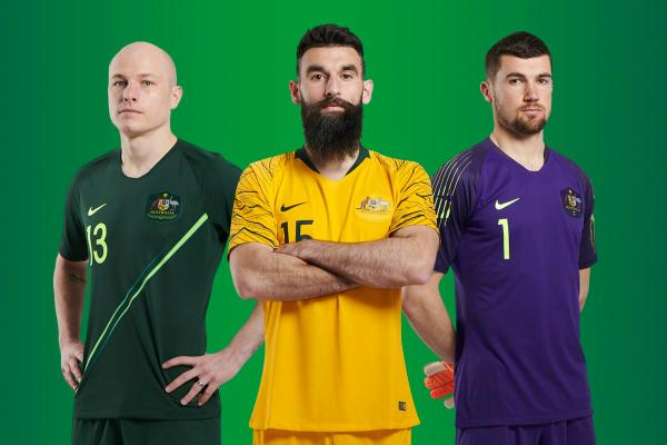 New Caltex Socceroos kit