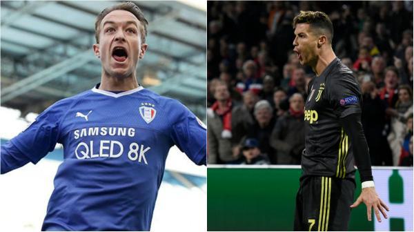 Adam Taggart; Cristiano Ronaldo