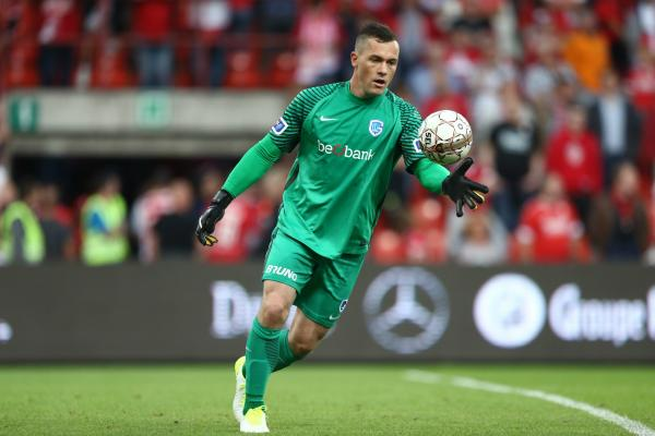 Danny Vukovic in action for RKC Genk.