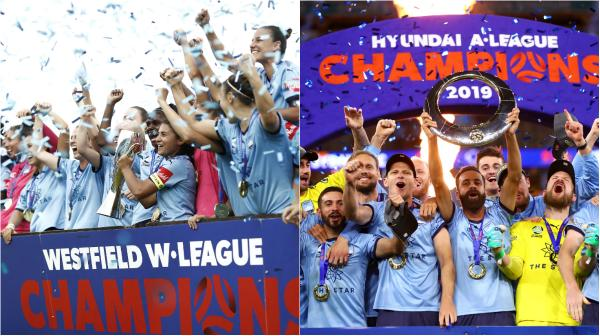 Sydney FC W-League and A-League champions
