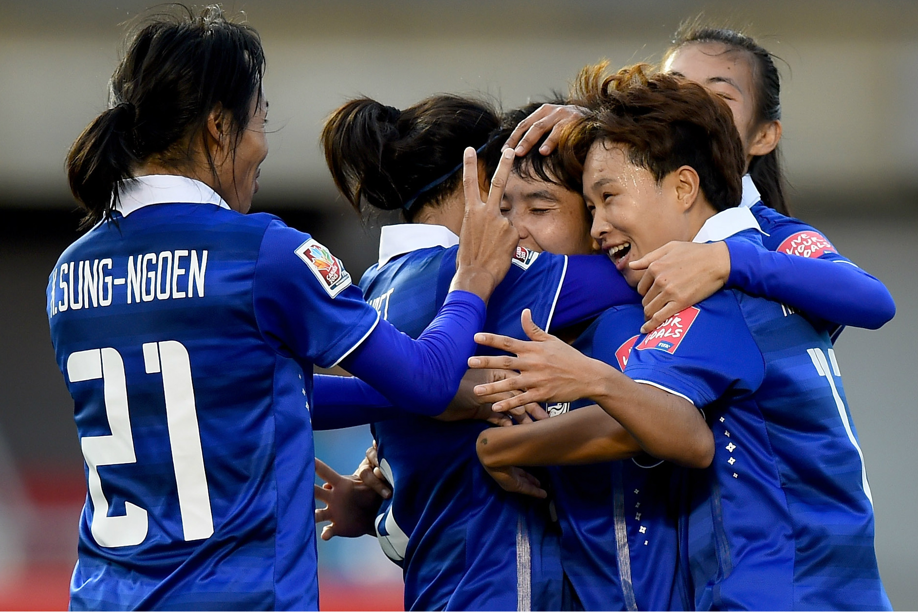 Thailand last won the Women's Asian Cup in 1983.