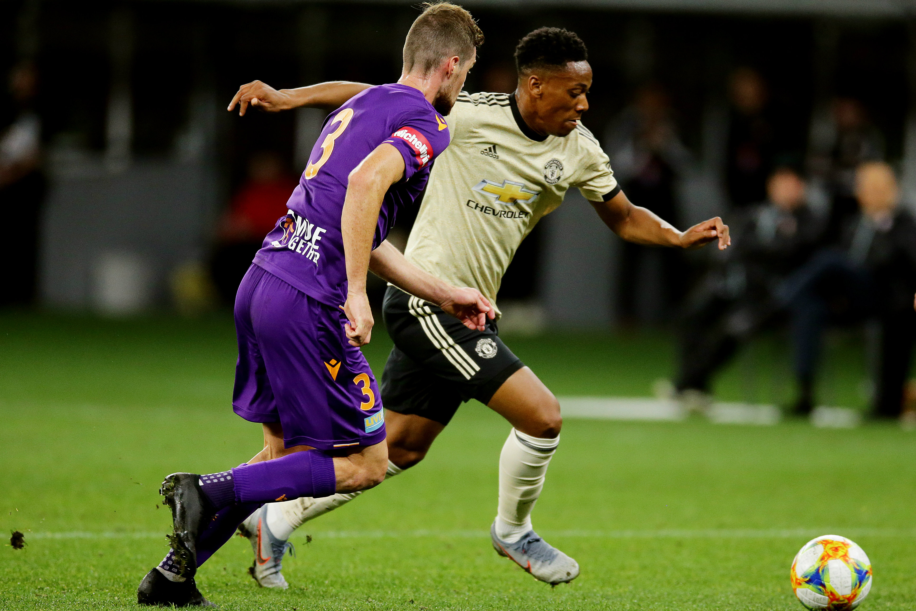 Tratt keeps a close eye on United attacker Anthony Martial