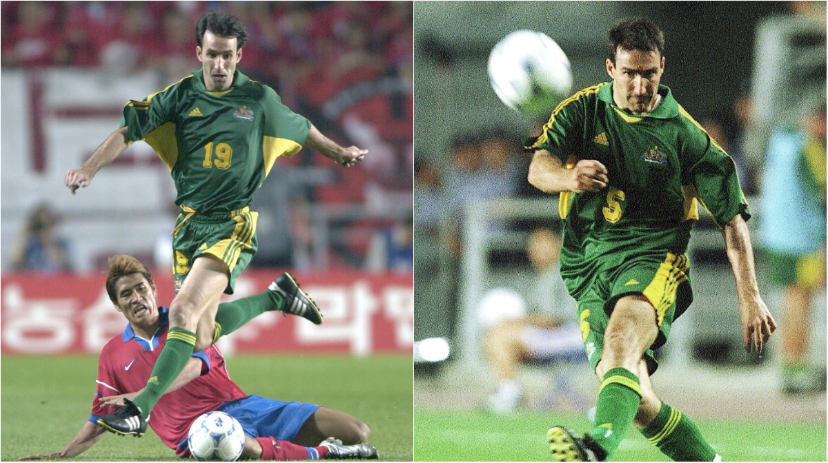 Aurelio and Tony Vidmar made more than 100 appearances for Australia between them