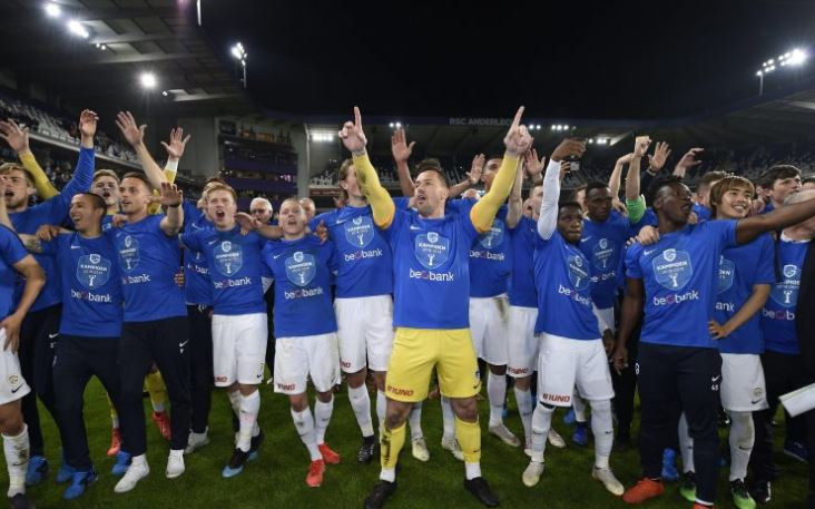 Genk celebrate their title