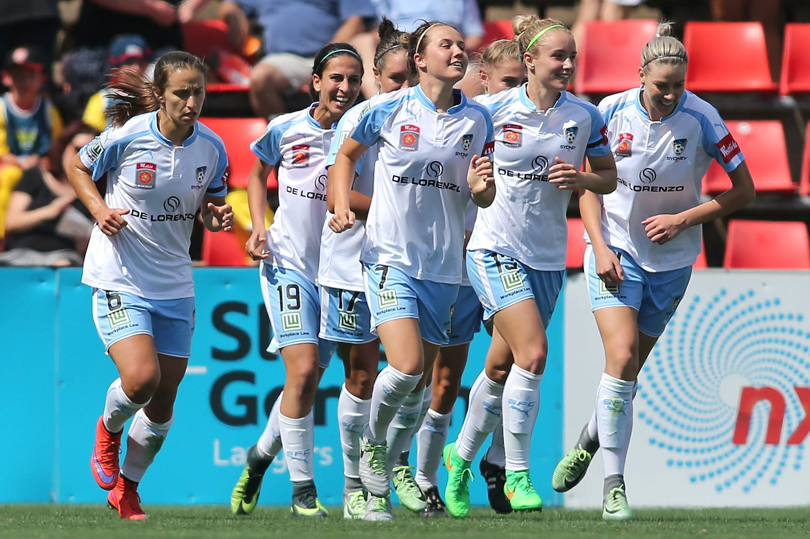 Sydney FC has qualified for the Westfield W-League Finals Series every season.